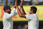 Indian bowler Ravichandran Ashwin took 13-140 to secure the win. AP/Photo