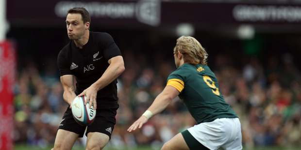 Ben Smith of New Zealand during the The Rugby Championship match between South Africa and New Zealand. Photo / Getty Images.