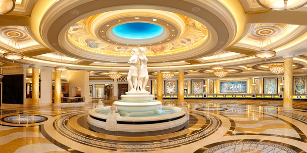 Caesar's Palace has featured in many films, including the Hangover. Photo / Supplied