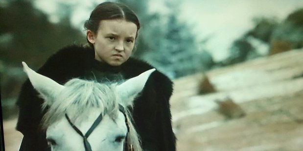 Lyanna Mormont is returning for Game of Thrones season 7. Photo / HBO