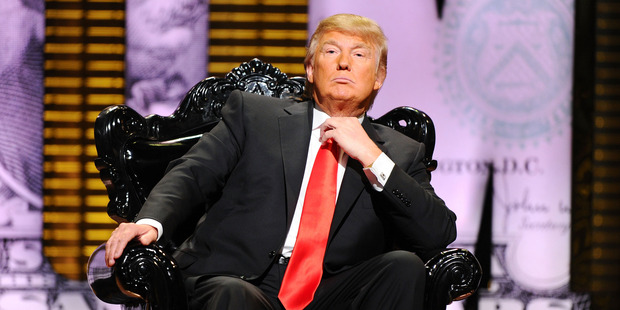 Donald Trump on stage at the Comedy Central Roast Of Donald Trump at the Hammerstein Ballroom in New York City in 2011. Photo / Getty Images