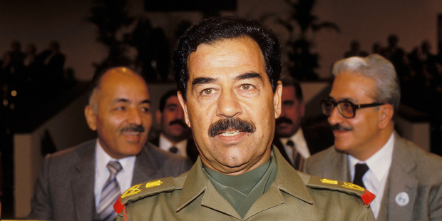 Saddam Hussein took control of Iraq in 1979. Photo / Getty Images