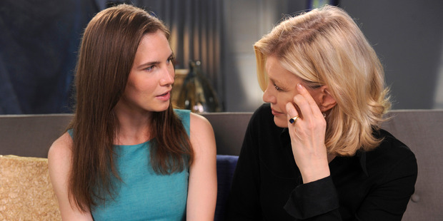 Amanda Knox spoke to Diane Sawyer after the last appeal in her case and has gone on to make the Netflix documentary. Photo / Getty