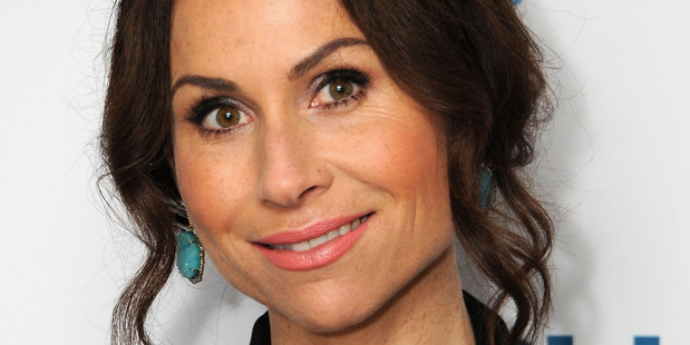 Actress/singer-songwriter Minnie Driver visits SiriusXM Studios on October 13, 2014 in New York City. Photo / Getty