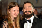Mia Goth and Shia LeBeouf have gotten married. Photo / Getty Images