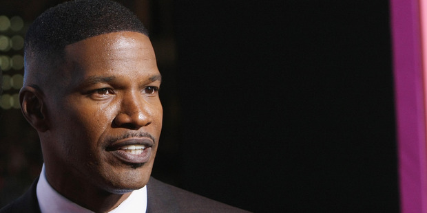 Actor Jamie Foxx attends the Los Angeles premiere of New Line Cinema's Horrible Bosses 2 at TCL Chinese Theatre on November 20, 2014 in Hollywood, California. Photo / Getty