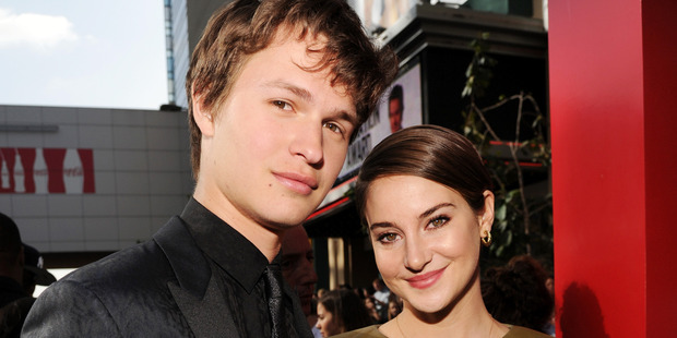Actors Ansel Elgort and Shailene Woodley. Photo / Getty Images