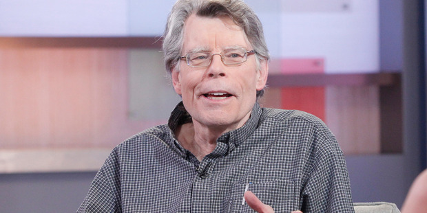 Author of contemporary horror, Stephen King is a guest on GOOD MORNING AMERICA, airing on the ABC Television Network. Photo / Getty