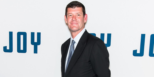Businessman James Packer has come under fire from his ex. Photo / Getty Images