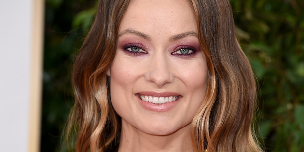 Actress Olivia Wilde attends the 73rd Annual Golden Globe Awards held at the Beverly Hilton Hotel on January 10, 2016 in Beverly Hills, California. Photo / Getty