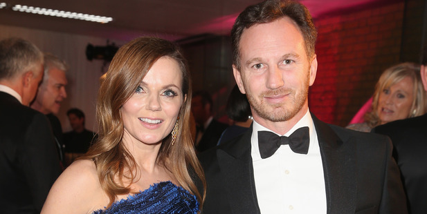 Geri and Christian Horner are absolutely delighted to announce they are expecting their first child together. Photo / Getty Images