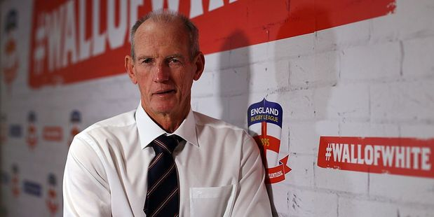 England rugby league coach Wayne Bennett. Photo / Getty Images
