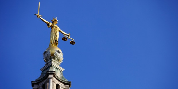 London's Old Bailey heard a toddler died after his father force-fed him a mixture of cereal and bread, causing his lungs to fill with the substance and drowning him in his food. Photo / Getty Images