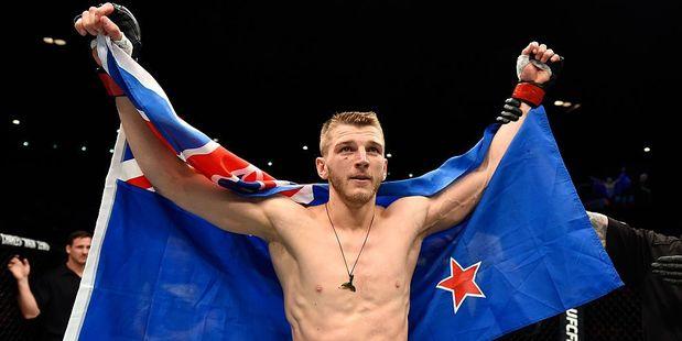 New Zealand UFC figher Dan Hooker. Photo / Getty