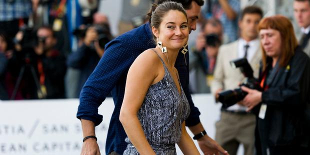 Shailene Woodley is seen arriving at Maria Cristina Hotel during 64th San Sebastian International Film Festival on September 21, 2016 in San Sebastian, Spain. Photo / Getty