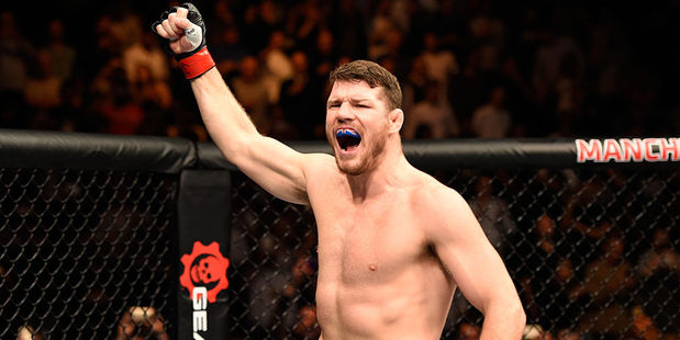 Michael Bisping. Photo / Getty