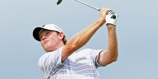 Brandt Snedeker during the 2016 Fiji International at Natadola Bay Golf Course. Photo / Getty Images