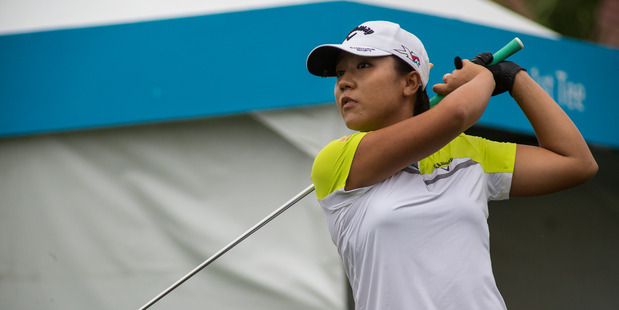 Lydia Ko plays a shot in the Fubon Taiwan LPGA Championship. Photo / Getty Images