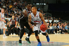Jerome Randle of the Adelaide 36ers drives at the basket. Photo / Getty Images