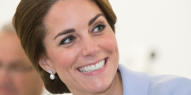 It's been revealed Kate Middleton relies on a New Zealand skin-care product to keep her skin glowing. Photo / Getty