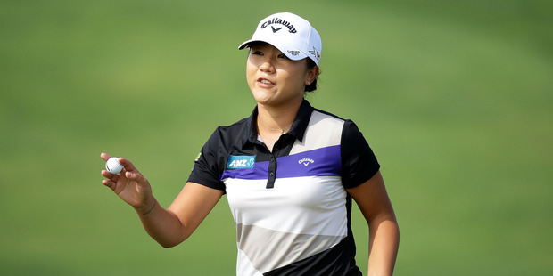 Lydia Ko during the first round of the LPGA KEB-Hana Bank Championship. Photo / Getty Images