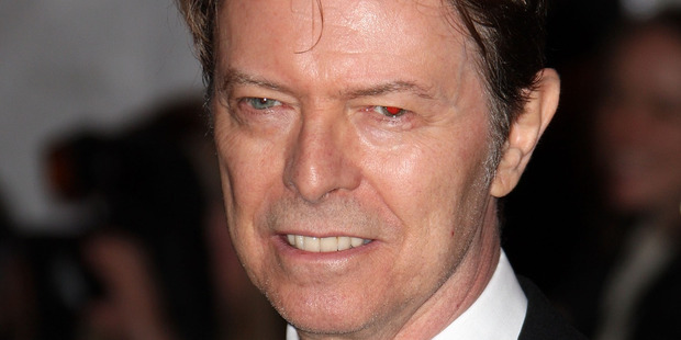 Musician David Bowie arrives to the Metropolitan Museum of Art Costume Institute Gala, Superheroes: Fashion and Fantasy, held at the Metropolitan Museum of Art on May 5, 2008. Photo / Getty