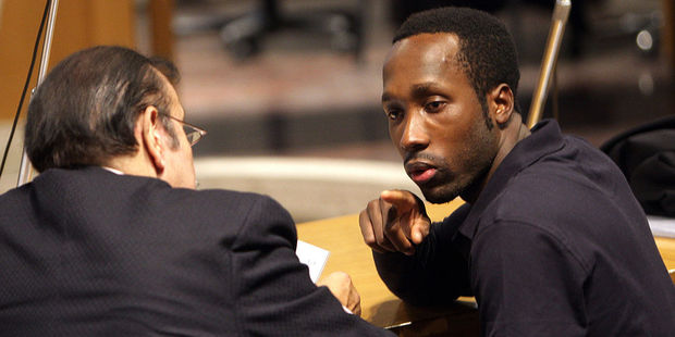 Rudy Guede, who was born in the Ivory Coast, is the only person serving jail time for the murder of the British student. Photo / Getty