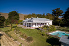 The sprawling five-bedroom Havelock North homestead known as Hilton Station is for sale after 145 years in the same family. Photo / Supplied