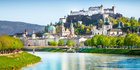Salzburg skyline with Festung Hohensalzburg and Salzach river in summer. Photo / 123RF