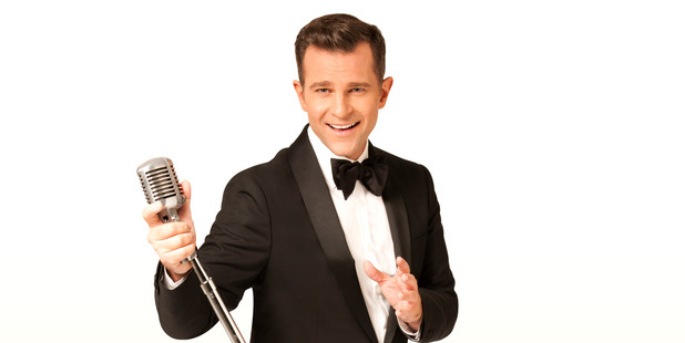 David Campbell had the audience toe-tapping to Bobby Darin's hits.