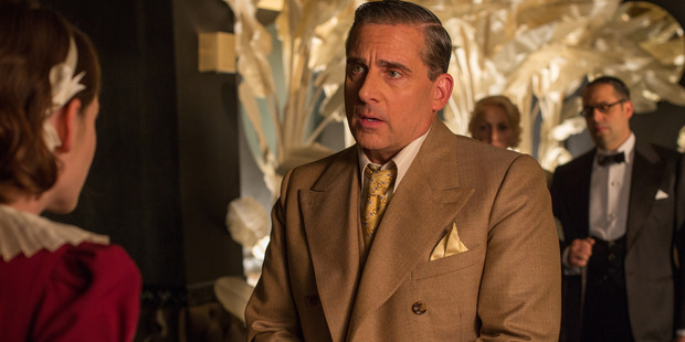 Steve Carell in a scene from the movie, Cafe Society.