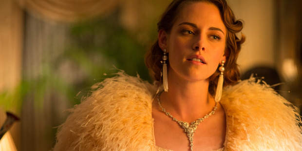 Loading Actress Kristen Stewart stars in the Woody Allen-directed movie, Cafe Society.