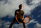RISING TENNIS STAR:  Local yongster Logan Nathan will be one to watch for the future. PHOTO/ STEPHEN PARKER.