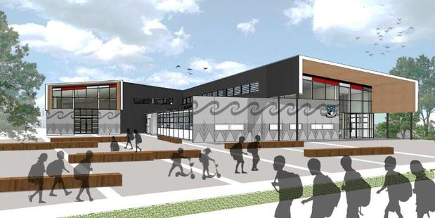 An artist's impression of new Southern Cross Campus. Photo / Supplied