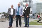 Newly elected councillors Larry Baldock, Max Mason and Terry Molloy. PHOTO/JOHN BORREN