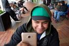 APP: Rotorua's Eruera Samuels has become the second person in the world to reach level 40 in the app craze Pokemon Go. PHOTO/STEPHEN PARKER