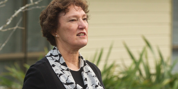 Toi Ohomai council chairwoman Cathy Cooney at the launch of the institute's new brand and name. PHOTO/STEPHEN PARKER