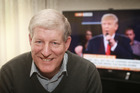 Frank Trump today at home in Auckland today talking about his namesake Donald Trump. Photo / Doug Sherring