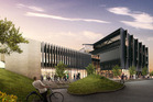 An artist's impression of Waikato University's Tauranga CBD campus. Image/Supplied