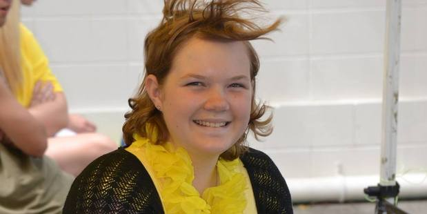 Loading Amber-Lee Lawrie, deputy head girl of Waiuku College, died of cancer aged 17. Photo / Supplied