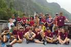 Rotorua Intermediate students on their latest trip to China. Photo/Supplied