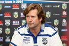 Bulldogs Head Coach Des Hasler. Photo / Photosport