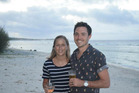 Steph and Ben McHale in Rarotonga. PHOTO/SUPPLIED