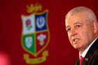 British Lions and Wales coach Warren Gatland gave up his seat in business class so a grandmother could sit with her family.