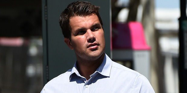 Tostee arrives at the Supreme Court in Brisbane. Photo / AAP