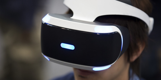 Sony Computer Entertainment's PlayStation VR. Photo / AP