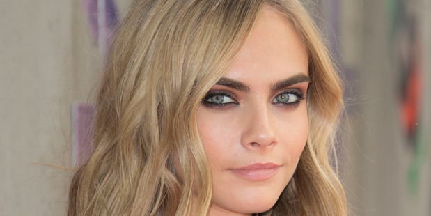 Cara Delevingne has taken to Instagram to stand in solidarity for the 41-year-old actress - who split from her husband Brad Pitt last month. Photo / AP