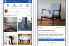 Facebook's new Marketplace section could be threatening Trade Me's market dominance.