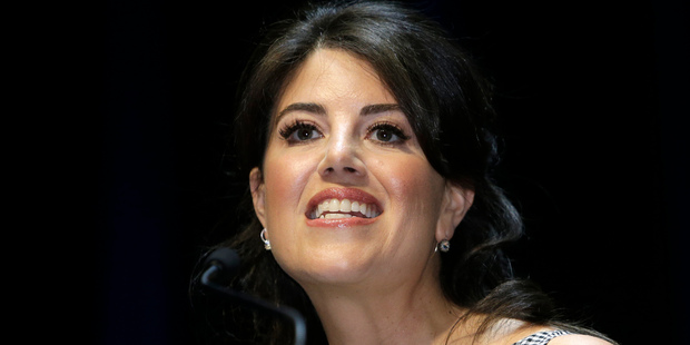 Monica Lewinsky pictured in June last year, was again drawn into a political debate. Photo / AP