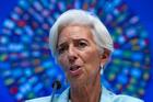 International Monetary Fund (IMF) Managing Director Christine Lagarde. Photo / AP